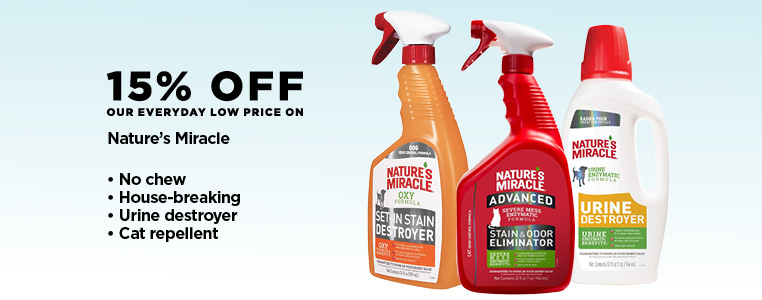 15% Off Nature's Miracle