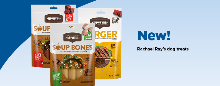 NEW! Rachael Ray's Dog Treats