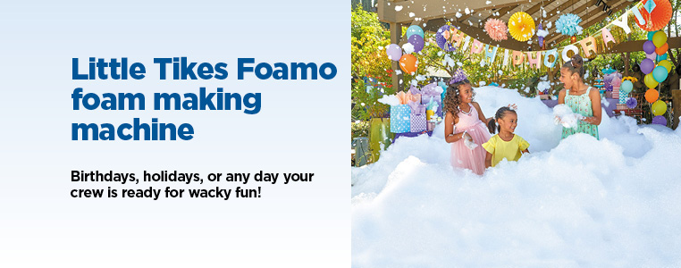 Little Tikes Foamo Foam Making Machine