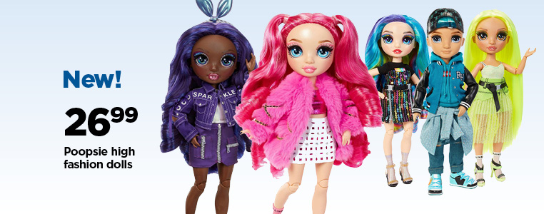 NEW! Poopsie High Fashion Dolls $ 26.99