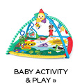 Baby activity and play