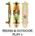 Riding and outdoor play
