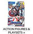 Action figures and playsets