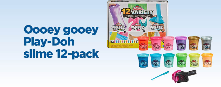 Oooey Gooey Play-Doh Slime 12-Pack