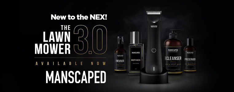 New to NEX! Manscaped