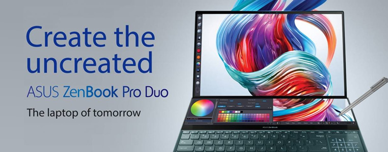 Create the uncreated Asus ZenBook Pro Duo