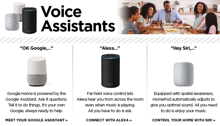 Find your voice assistants