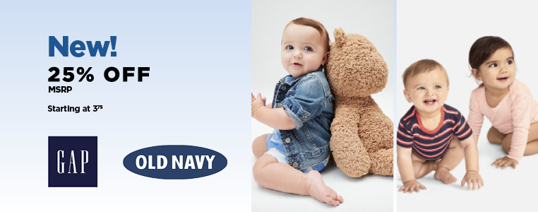 New! Old Navy & Gap Baby