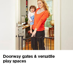 Doorway Gates & Versatile Play Spaces