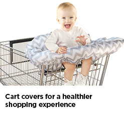 Cart Covers for a Healthier Shopping Experience