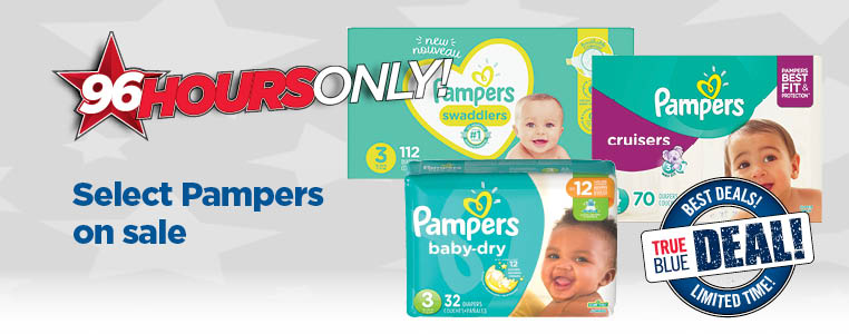Select Pampers On Sale