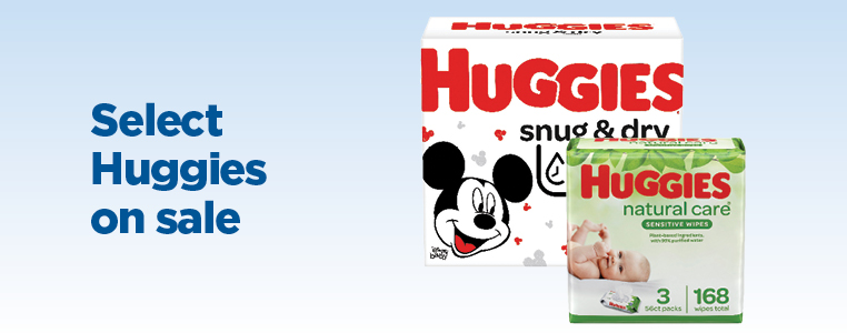 Select Huggies Baby On Sale