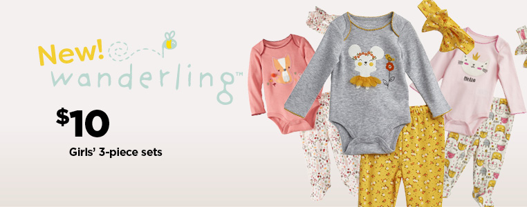 Wanderling  Girls' 3-Piece Sets