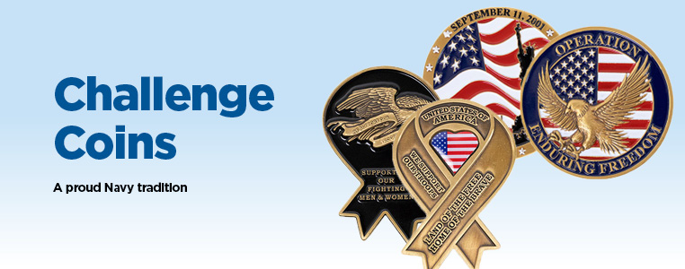 Challenge Coins A Proud Navy Tradition