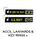 Car Accessories, Lanyards & Key Rings