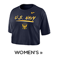 Shop Women's Navy Pride Apparel