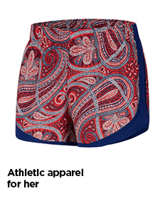 athletic apparel for her