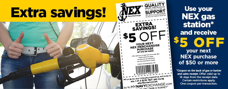 Extra Savings with Your NEX Gas Purchase