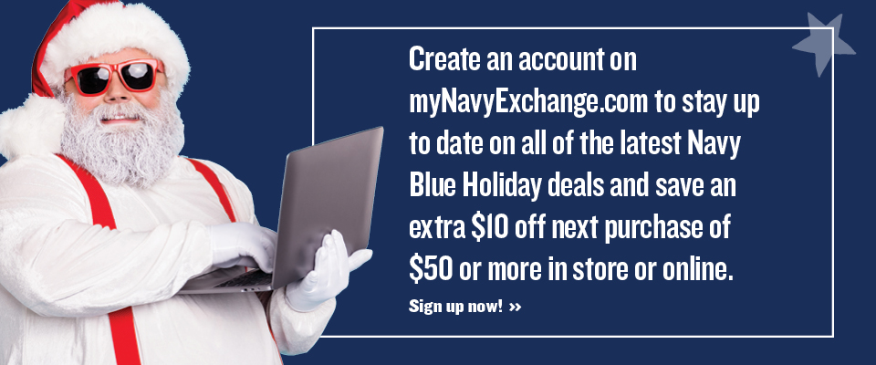 Create a mynavyexchange.com account today