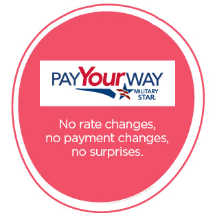 Pay your way with Military Star card
