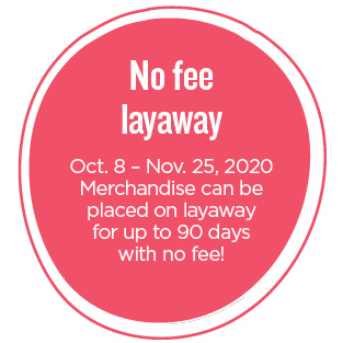 NEX offers No Fee Layaway