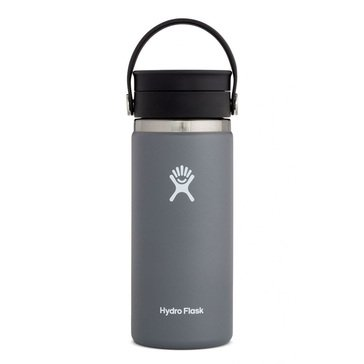 Hydro Flask 16 oz. Wide Mouth Beverage Bottle with Flip Lid - Graphite