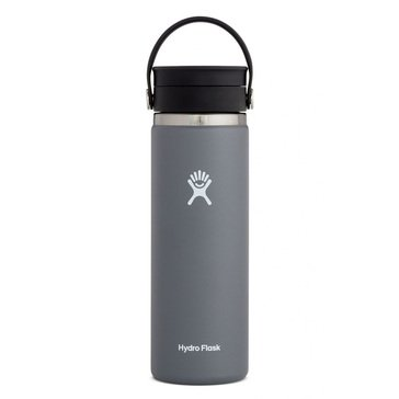 Hydro Flask 20 oz. Wide Mouth Beverage Bottle with Flip Lid - Graphite