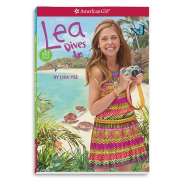 American Girl Lea Dive-In Book