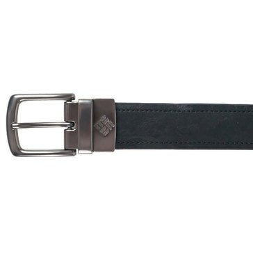 Columbia Men's Stitched Edge Reversible Belt Brown/Black, 38mm