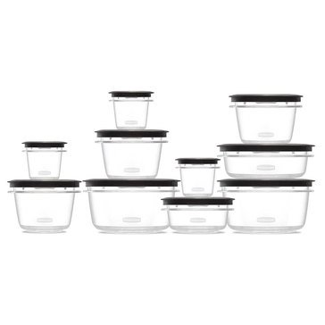Rubbermaid 20 Piece Premier Set, Grey