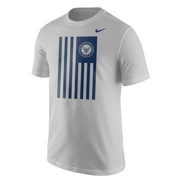 Nike Men's USN Cotton CoreTee with Navy Seal Flag