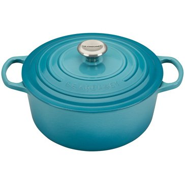 Le Creuset 5.5-Quart Round French Oven, Caribbean