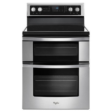 Whirlpool 6.7-Cu.Ft. Electric Double Oven, Stainless Steel (WGE745C0FS)