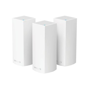 Linksys Velop Ac2200 Tri-band Whole Home Wi-fi System (3-pack)