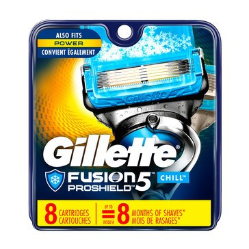 Gillette Fusion 5 Proshield Chill 8ct Cartridges