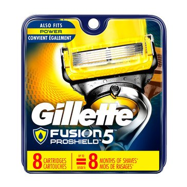 Gillette Fusion 5 Proshield Base 8ct Cartridges