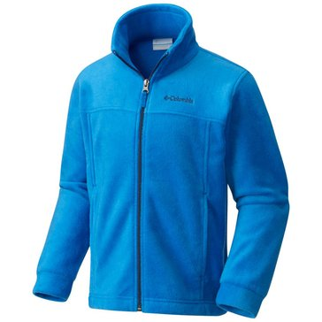 Columbia Little Boy's Steens II Full-Zip Fleece Jacket, Blue