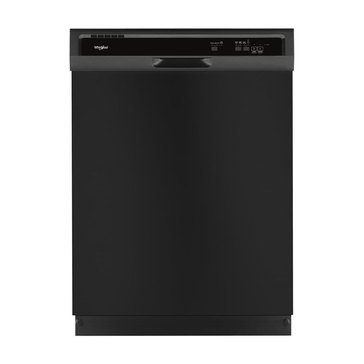 Whirlpool Front Control Built-In Dishwasher, Black (WDF330PAHB)