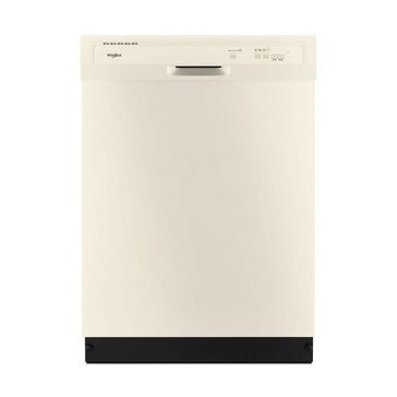 Whirlpool Front Control Built-In Dishwasher, Biscuit (WDF330PAHT)