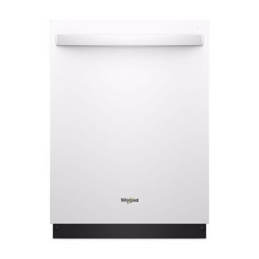 Whirlpool Front Control Built-In Dishwasher, White (WDT750SAHW)
