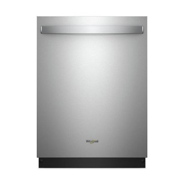 Whirlpool Stainless Steel Tub Dishwasher with Third Level Rack, Stainless Steel (WDT970SAHZ)