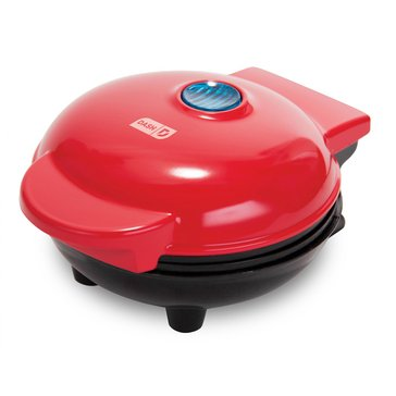 Dash Mini Waffle Maker, Red