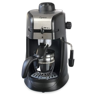 Capresso Steam Pro 4-Cup Espresso & Cappuccino Machine (304.01)