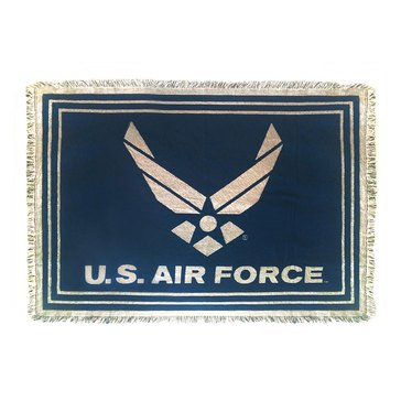 Pure Country Air Force Throw Blanket
