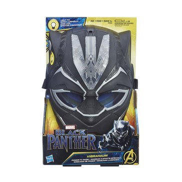 Marvel Comics Black Panther Vibranium Power FX Pretned Play Mask
