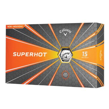 Callaway Superhot Golf Balls, 12-Pack