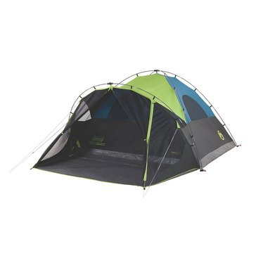 Coleman Carlsbad Fast Pitch 6-Person Dark Room Tent With Screen Room