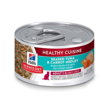 Hill's Science Diet Feline Tuna and Medley Adult Wet Cat Food