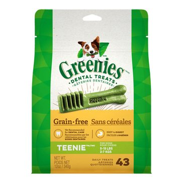 Greenies Grain Free Teenie Dog Treats