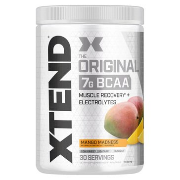 Xtend The Original BCAA Muscle Recovery + Electrolytes Mango Madness 30 Servings